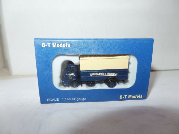 B T Models N036 1/148 N Gauge Albion Clydesdale Ripponden & District 1972-78